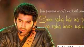 Lyrics - Sun Raha Hai Na Tu : Aashiqui 2