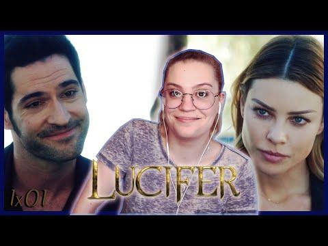"""Lucifer Season 1 Episode 1 """"Pilot"""" REACTION! (Series Premiere)"""