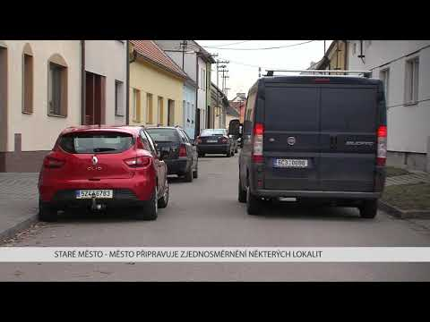 TVS: Staré Město - Město připravuje zjednosměrnění některých ulic