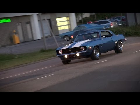 1969 Chevrolet Camaro SS 427 - Insane Acceleration and Sound!!