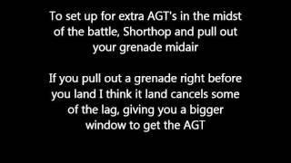Snake Grenade Aerial Glide Toss