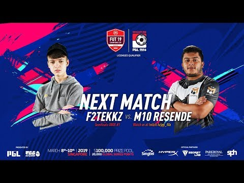 F2TEKKZ VS M10RESENDE SEMI FINAL! FUT 19 CHAMPIONS CUP MARCH!