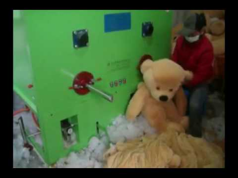 Cotton and fiber Filling machine, soft toy stuffing machine