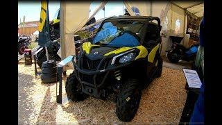 10. CAN-AM MAVERICK TRAIL 800 BRP ATV QUAD NEW MODEL 2018 WALKAROUND + INTERIOR