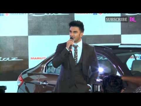 Ranveer Singh looks dapper at a car launch