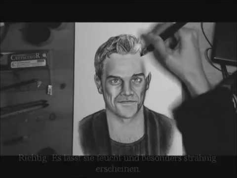 Haare zeichnen lernen – Video-Tutorial