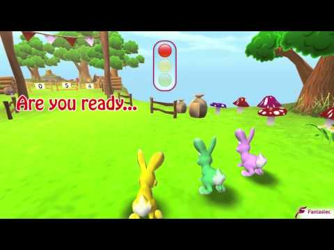 Video of Bunny Math Race