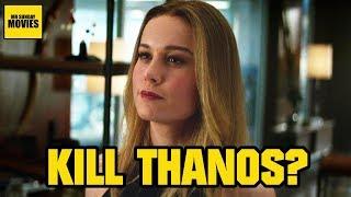 Video Will Captain Marvel Kill Thanos? MP3, 3GP, MP4, WEBM, AVI, FLV Maret 2019