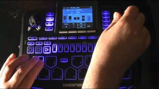 The Beat Thang`s hidden feature (Playing a pattern while in Kit or Inst mode)