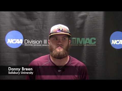 2015 NCAA DIII Baseball Mid-Atlantic Regional: Game 7 - Salisbury vs. Penn State Berks Highlights