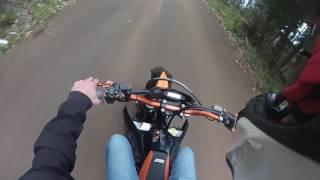 4. ktm 450 exc 2009 test ride