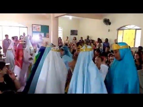Apresentação Dia das Mães Comunidade Santo Antônio Jerônimo Monteiro