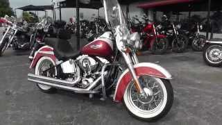6. 029676 - 2012 Harley Davidson Softail Deluxe FLSTN - Used Motorcycle For Sale