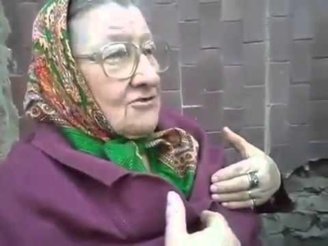 Бабка рассказывает про чёрта (видео)