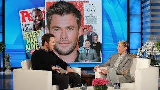 Chris Hemsworth Has Chris Pratt's Vote for 'Sexiest Chris'