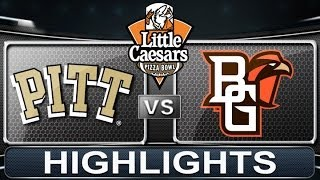 Bowling Green (FL) United States  city photo : Pitt vs Bowling Green | Little Caesars Pizza Bowl | 2013 ACC Football Highlights