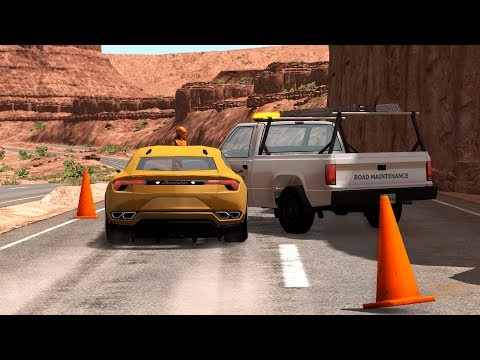 Road Events Crashes Compilation 2 - BeamNG.Drive