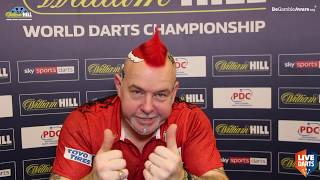 """Peter Wright: """"Jeffrey, I won't be playing like that again so you'll have to up your game!"""""""
