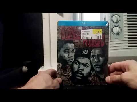 Boyz N The Hood Blu Ray Steelbook unboxing and review