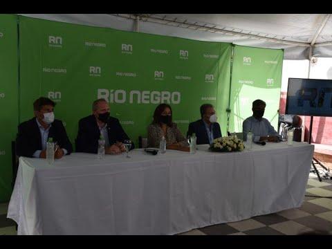 Acto por el Parque Productivo Tecnológico de Bariloche