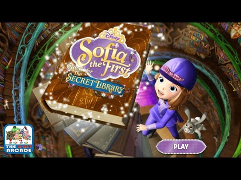 Sofia The First: Quest For The Secret Library - Help Find The Secret Library (Disney Junior Games)