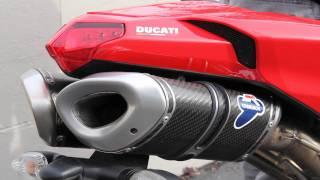 9. Termignoni exhaust system on DUCATI Superbike (5.1 Surround HD sound)