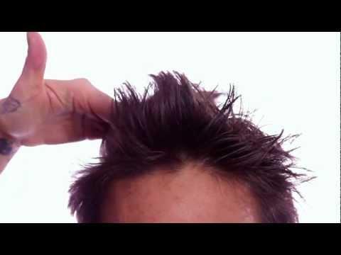 Frisur für Männer - Geheimtipp: Sprühfestiger