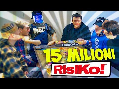 15 MILIONI DI ISCRITTI SI SFIDANO ALLA CONQUISTA DEL RISIKO !!