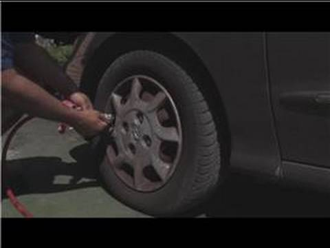 Car Problems & Maintenance : How to Properly Inflate Tires