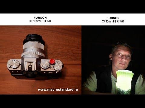 Obiectiv Fujifilm XF23mm F2 R WR, XF35mm F2 R WR sau varianta XF 1.4R? Si multe poze