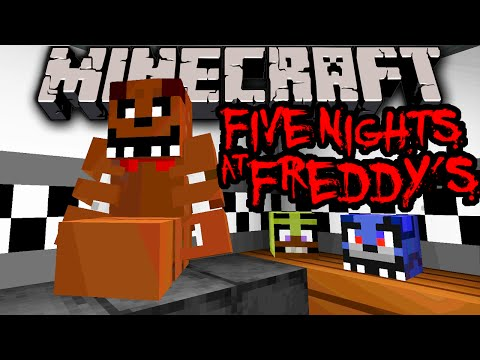 mods - Using tons of new features from the Minecraft 1.8 Update, user ReatherHellsong has recreated the popular horror game Five Nights at Freddy's, complete with moving animatronic animals, security...