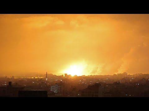 Israël pilonne Gaza, tirs de roquettes du Hamas
