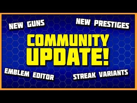 Emblem Maker, More Prestiges, Scorestreak Variants & More Coming Soon! (видео)