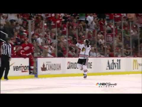 Murtz - Michael Frolik penalty shot backhand goal 4-2 May 27 2013 Chicago Blackhawks vs Detroit Red Wings. NBC Sports feed. Announcers PBP Doc Emrick, Eddie Olczyk, ...