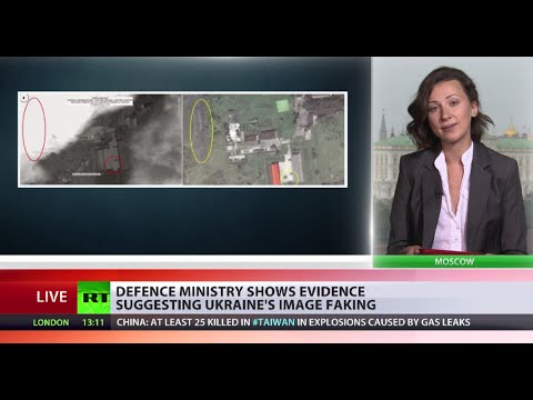 Kiev satellite images 'fake', taken days after MH17 crash - Russian Def Min