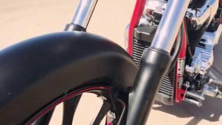 6. 2012 Honda Fury Matte Black on Red