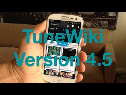 Video of TuneWiki - Lyrics for Music