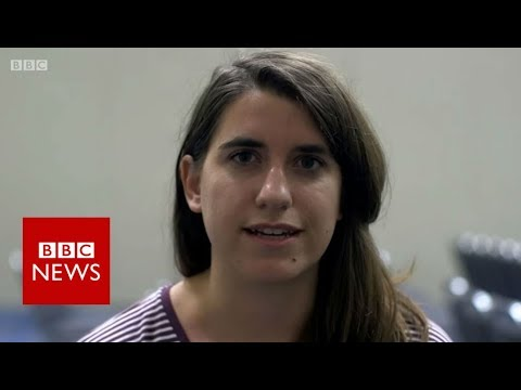 Young, liberal and not talking Trump - BBC News