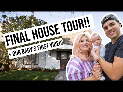 Final House Tour & Our Baby's First Video! | OMG We Bought A House