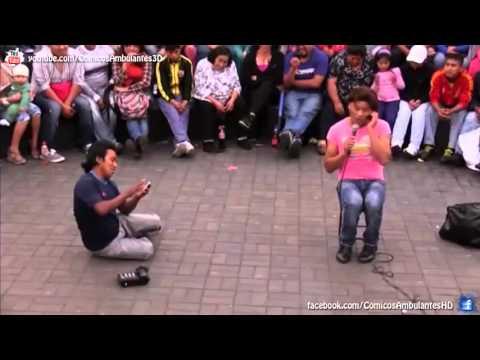 CHINO RISAS VOL 3 (PARTE 5 DE 6) | COMICOS AMBULANTES 2014 | CHABUCA GRANDA (видео)