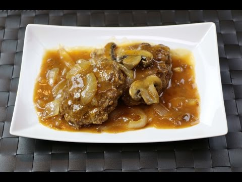 Salisbury Steak Recipe - How to Make Salisbury Steak