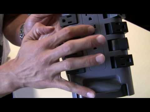 Belkin 12 Outlet Surge Protector Unboxing