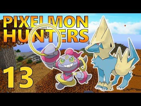 [13] Hoopa Returns! First Legendary! First Rare Hunt! (Pixelmon Reforged Gameplay S2)