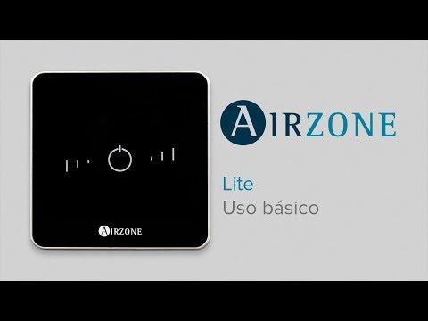 Uso básico Termostato Airzone Lite