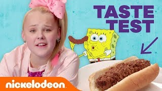 Video JoJo Siwa, Jade Pettyjohn & More in the 😋  Nickelodeon-Inspired Food Taste Test 🍔 (Part 2) | Nick MP3, 3GP, MP4, WEBM, AVI, FLV Oktober 2018