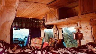 Van Conversion using Upcycled WHISKY BARRELS - 🥃 The MOST SCOTTISH Van on EARTH!  🏴� by Nate Murphy
