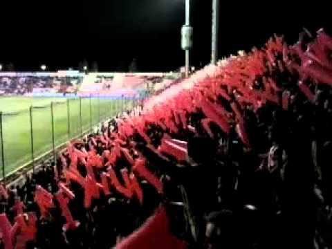 Gran recibimiento Tatengue vs Godoy Cruz! - La Barra de la Bomba - Unión de Santa Fe