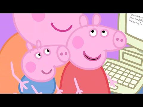 Peppa Pig Season 1 Episode 7 - Mummy Pig at Work - Cartoons for Children