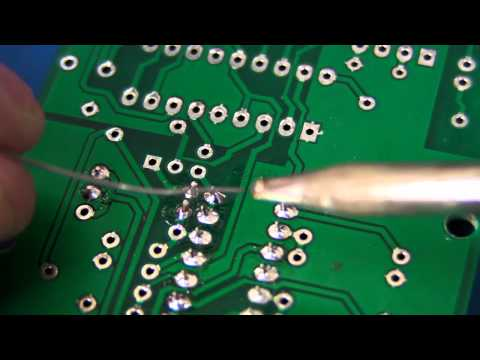 soldering - PART 1: http://www.youtube.com/watch?v=J5Sb21qbpEQ PART 3: http://www.youtube.com/watch?v=b9FC9fAlfQE A beginners guide to learning how to hand solder. Remem...