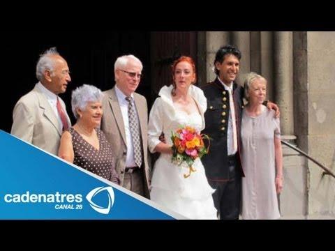 Florence Cassez se casa con Franco-mexicano / Florence Cassez marries with a Franco-Mexican